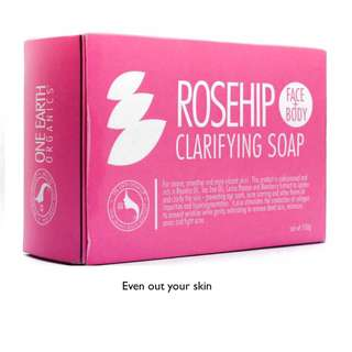 One Earth Organics Rosehip Soap