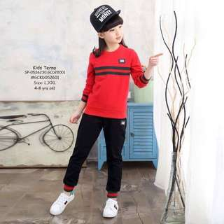 KIDS TERNO  Size: L,XXL 4-8 yrs old  Price : 400