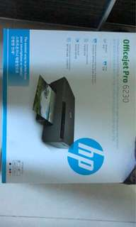 HP printer - Officejet Pro 6230