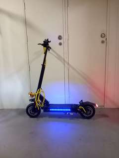 Dual motor dual suspension 52v 2000w mini ultron ultra escooter