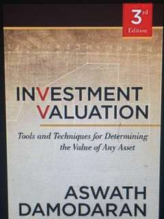 Investment Valuation (ebook)