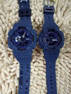 Gshock baby g couple watch