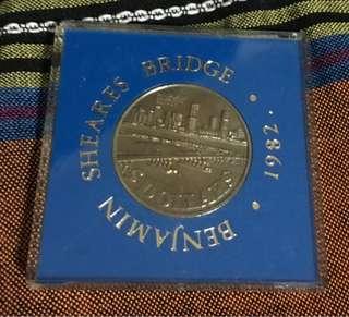 Benjamin Sheares Bridge Y1982
