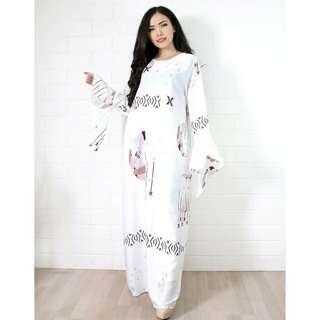 Dress muslim bulan / Baju muslim/ Gamis