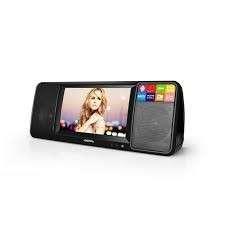 HD portable video player Mini TV FM radio U disk read card bedroom hifi audio support TF card, film music