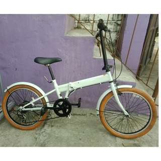 CAINZ FOLDING BIKE (FREE DELIVERY AND NEGOTIABLE!)