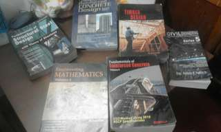 Preloved Civil Engineering Review Books