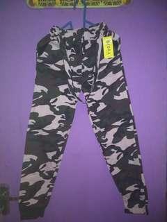 Jogger pants army