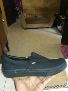Vans SLIP ON ALL BLACK V98CLA