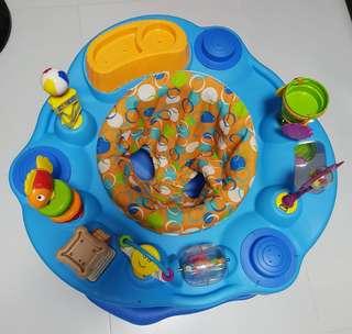 Evenflo play saucer
