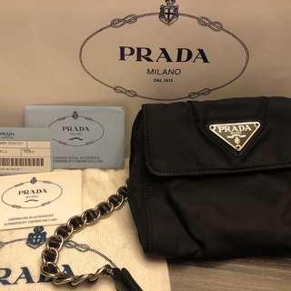 Prada Vintage Shoulder Bag(可當腰包用)