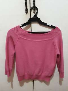 Korean Pink Long Sleeves
