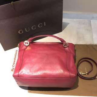 Best deal $366 Gucci Handbag with removable shoulder strap