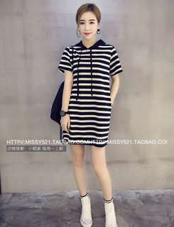 [PO]: Hoodie Dress For $15