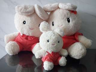 Soft Toys - 3 members family