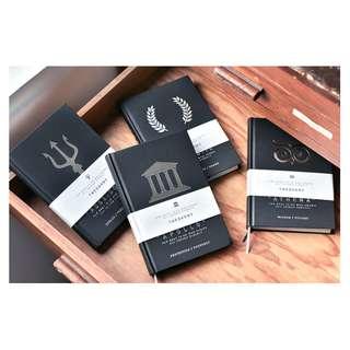 Greek Theogony Premier Hard Cover Personal Logbook Notebook