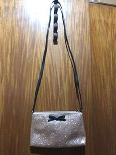 authentic kate spade gold sling bag