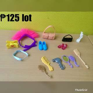 Accessories for barbie