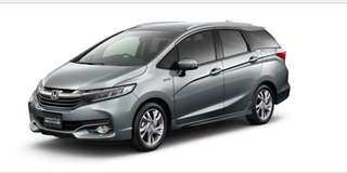 Honda Shuttle, Honda Fit