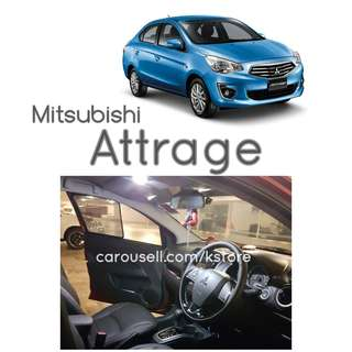 Mitsubishi Attrage LED lights