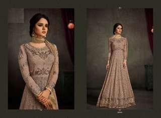 Flattering Georgette Embroidered Anarkali Salwar Kameez