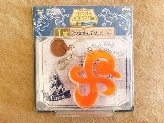 航海王海賊王ONE PIECE娜美標誌鑰匙圈 吊飾