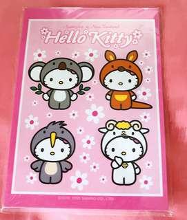Hello Kitty 動物造型 記事簿 (全新包郵)