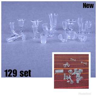 Cups & glasses for barbie