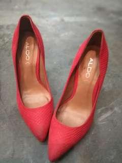 Aldo Red Shoes