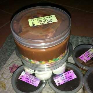 Coklat rice,marsmallow berinti,dadih sedut paddle pop