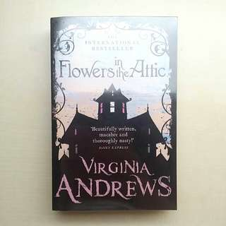 [LARGE DISCOUNT] Flowers In The Attic Book BY Virginia Andrews, International Bestseller, COVER WRAPPED