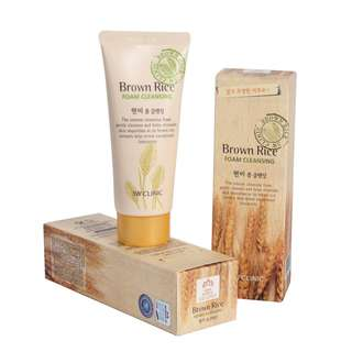 30% Off on 3W Clinic Brown Rice Facial Foam
