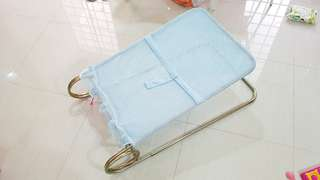 Used baby sleeping frame and cover seldom use good condition