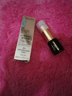tester lancome l'absolu rouge