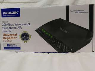 Prolink 300Mbps Wireless-N Broadband AP/Router