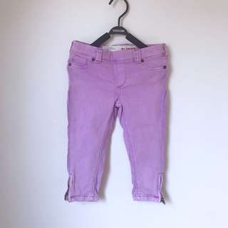 Cotton On girls zipped ankle jeans size 3-4