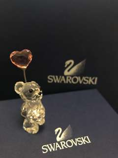 Swarovski 水晶 施華洛世奇 可愛小熊