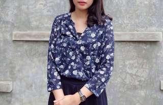 H&M flower shirt