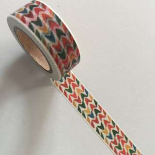 Chevron GJ68 Washi Tape 15mm x 10m