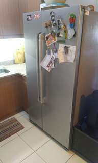 LG side by side refrigerator, perfect condition