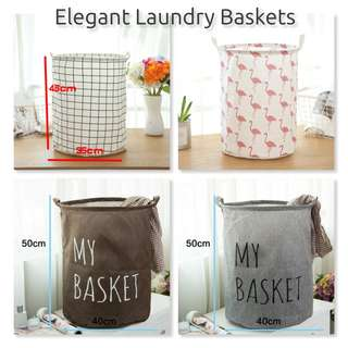 Fashionable Laundry Baskets| Foldable Storage Baskets for Clothes And Toys