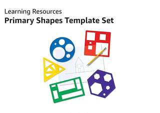 [FreeMail] Learning Resources Primary Shapes Template Set $20