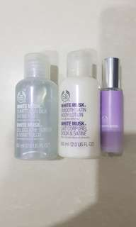 The Body Shop white musk travel set