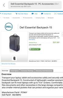 Dell-Essential Backpack-15