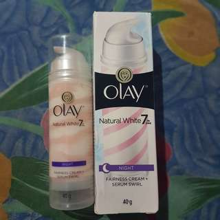 Olay natural white 7in1 serum wirl