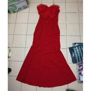 [CLEARANCE] DRESS (WITH BRA PAD)