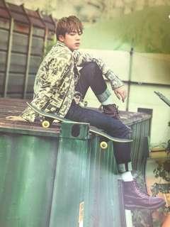 BTS Jin poster