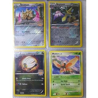 Staff stamped Pokemon Cards (2/3)