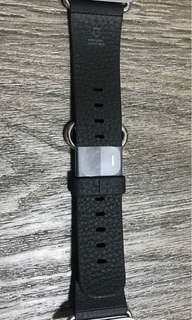 Apple Watch Classic buckle leather strap - black - 38mm