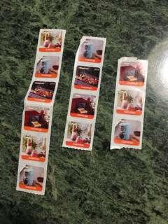 萬寧印花Mannings stamps